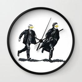 Swift Run (Sherlock and John) Wall Clock