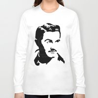 ed sheeran Long Sleeve T-shirts featuring Ed Wood by b & c