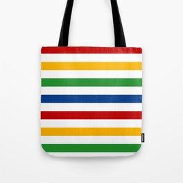 Classic Colour Stripes Tote Bag