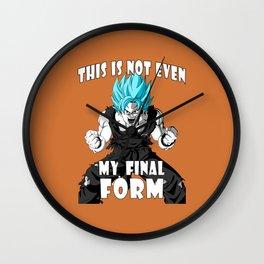 Super saiyan God Wall Clock