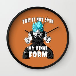 Super saiyan God Wall Clock