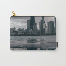 Chicago Black & White Carry-All Pouch