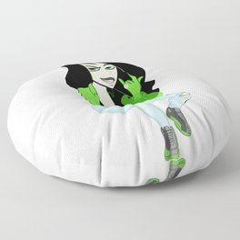 Modern Shego (4/20 Edition) Floor Pillow