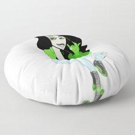 Modern Shego (4/20 Edition) Floor Pillow