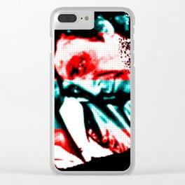 Wild Gene Wilder Pryor Clear iPhone Case