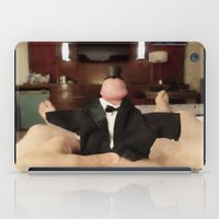 cunt iPad Cases featuring funny painting slut BDSM fetish Big dick cock suck oral sex pussy cunt transgender anal fuck  by Velveteen Rodent