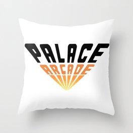 Palace Arcade Throw Pillow