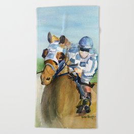 Jockey  Beach Towel