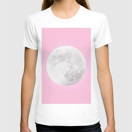 WHITE MOON + PINK SKY T-shirt