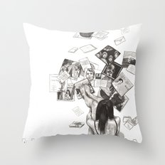 Norwegian Wood Film Poster Throw Pillow