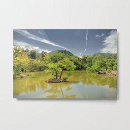 Kyōkochi pond Metal Print