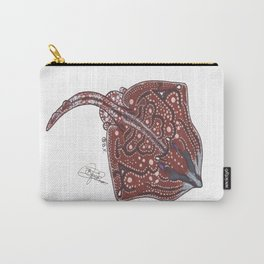 Undulate ray Carry-All Pouch