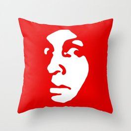The Freaky Red Poster Throw Pillow
