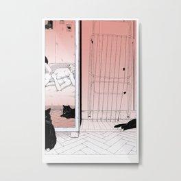 Scenes de Lit / Bedroom scenes II Metal Print