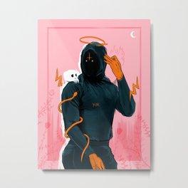 Hoodie Melo Metal Print