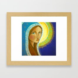 Salve Regina Framed Art Print
