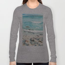 Cold day at the beach Long Sleeve T-shirt