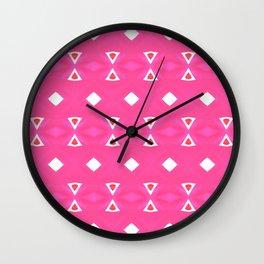 Geo Triangle 2 Wall Clock