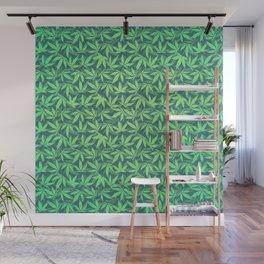 Cannabis / Hemp / 420 / Marijuana  - Pattern Wall Mural