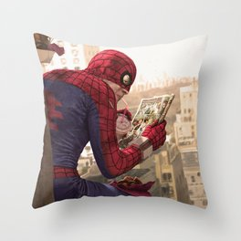 One on One (clean version) Throw Pillow