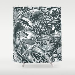 void party Shower Curtain