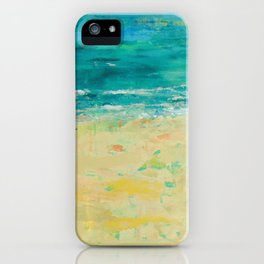 Get to the Beach! iPhone Case