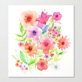 My garden Canvas Print