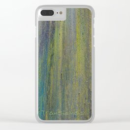 Rusty Stuff (~ Colours of Transience ~ ) III Clear iPhone Case
