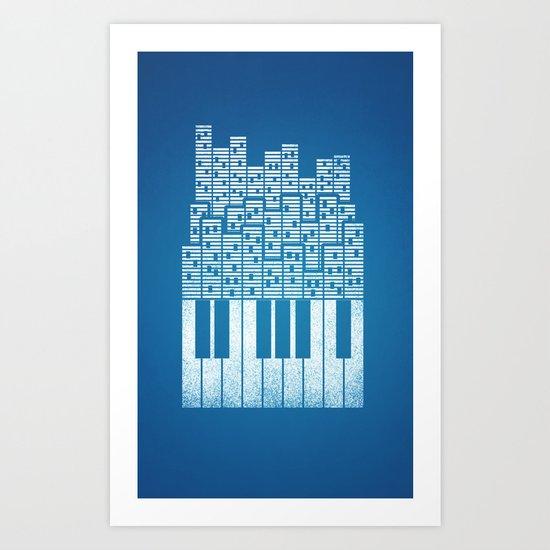 City of Amp Art Print