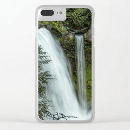 Sahalie Falls No. 4 Clear iPhone Case