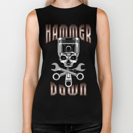 Hammer Down Biker Tank