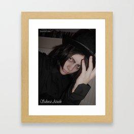 Sakurai Atsushi Cosplay Framed Art Print
