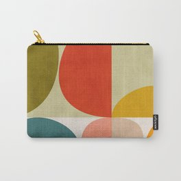 shapes of mid century geometry art Carry-All Pouch