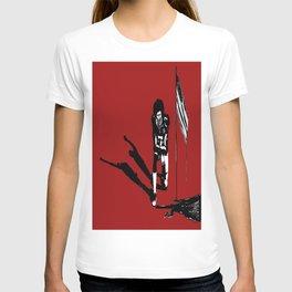 #americananthems #colin #kaepernick #blacklivesmatter #truefreedommatters #waterhummingbirdhouse T-shirt