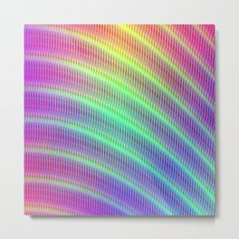 Abstract pattern no. 4 Metal Print