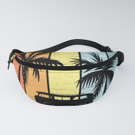 Home Is Where The Sun Is Camping Camper Fanny Pack