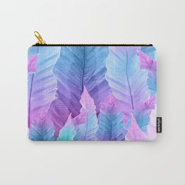 Underwater Leaves Vibes #1 #decor #art #society6 Carry-All Pouch