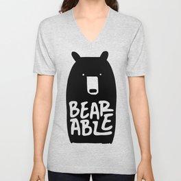 Bearable Unisex V-Neck