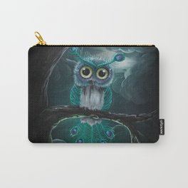 Peacock owl Carry-All Pouch