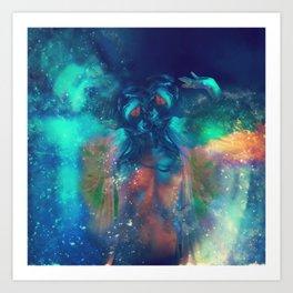 Cosmic Twins Art Print