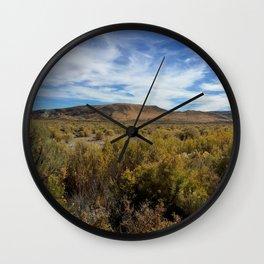 High Desert Sage Wall Clock