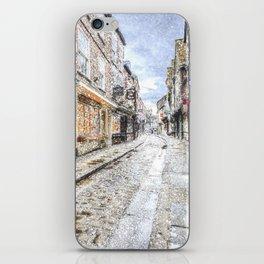 The Shambles York Snow Art iPhone Skin