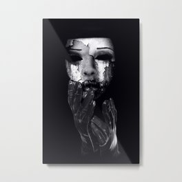 My Mask Metal Print