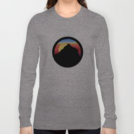 sunset mountain Long Sleeve T-shirt