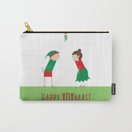 Happy XOXmas Carry-All Pouch