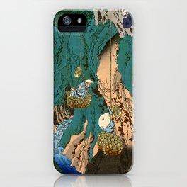 Mushroom Gatherers iPhone Case