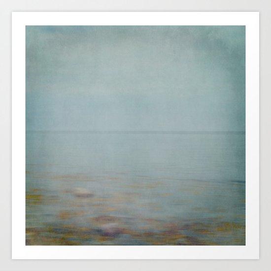 sea square II Art Print