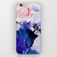 If You Please (Abstract Painting) iPhone & iPod Skin