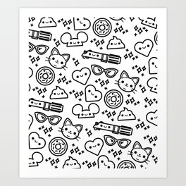 Cute Stuff Art Print