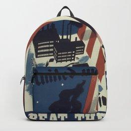 Vintage poster - United We Stand Backpack